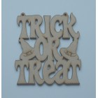 Trick or Treat hanging sign (with holes)