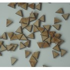Mini Bunting Triangles MDF for application / embellishment Pack of 50