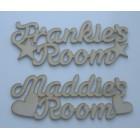 Personalised Room Signs