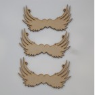 Angel Wings Trio various sizes Laser cut