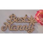 Best Mum, Mummy, Grandma, ... etc Mothers Day hanging Laser sign