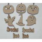 Halloween Hanging Set of 10