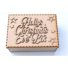 Christmas Eve Box with or without personalised Topper with Stars