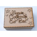 Christmas Eve Box with or without personalised Topper Disney Font