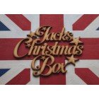 ... Christmas Box Stars MP Personalised Topper